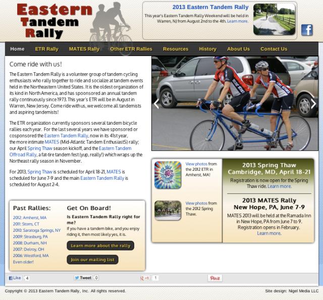 ETR Website